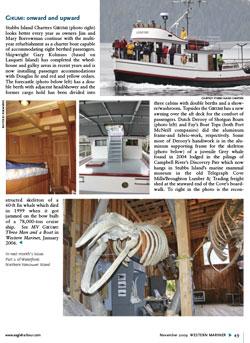Western Mariner Magazine November 2009 The Gikumi